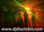 DJ na super WESELE, imprezę + nagłośnienie + oświetlenie + lasery + efekty