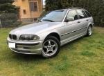 BMW 318 kombi, benzyna, srebrny