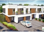 Nowe domy 112,58 m2 w Chełmcu