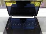 Biało-czarny Laptop TOSHIBA SATELLITE L50-Slim 8GB/Ram 4 rdzenie