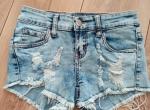 jeansowe szorty XXS