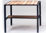 Loftowy ręcznie wykonany stolik kawowy do salonu