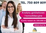 Konsolidacja kredytów z dodatkową gotówką do 200 t