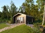 Dom,domek rekreacyjny AlleHouse, całoroczny, drewn