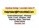 Haker, usługi hakerskie, hakowanie na zlecenie2021