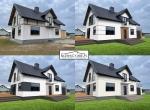 Pomysł na projekt elewacji domu / Elewacje domów /