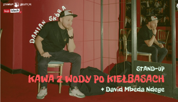 Stand-up: Damian Skóra + David Mbeda Ndege