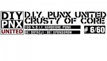 Diy Punx Utd. Crusty Of Core #6/60